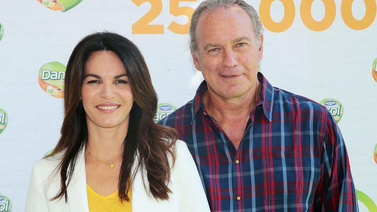 Bertín Osborne (65 años), con su mujer Fabiola Martínez (46)