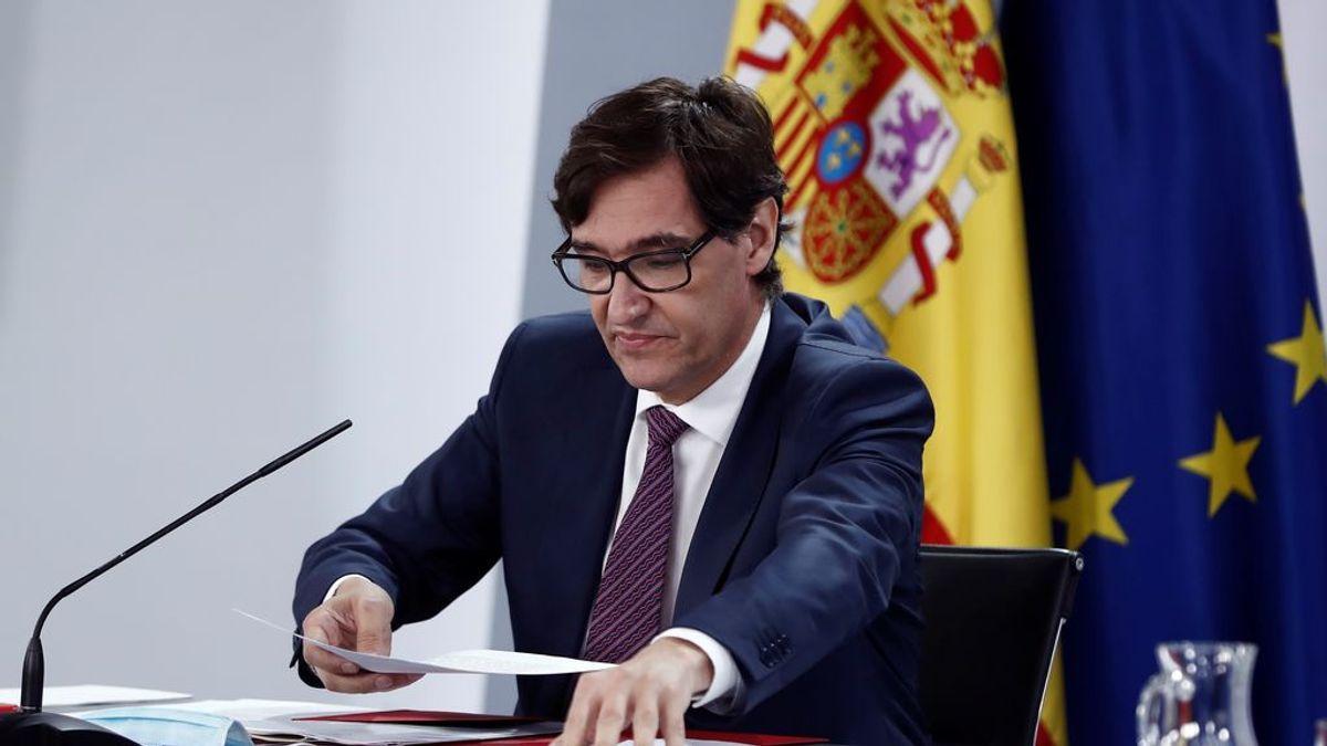 """Salvador Illa asegura que """"hay que hacer lo que haga falta para controlar la situación en Madrid"""""""