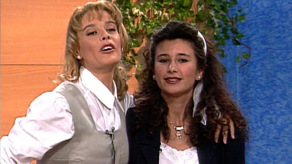 Gema López y Belén Rueda trabajaron juntas