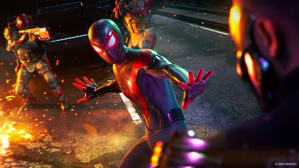 Spider-Man Miles Morales tráiler de gameplay en PS5