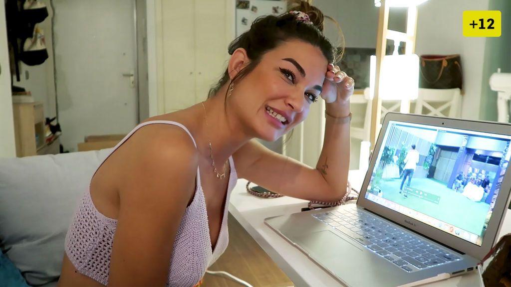 Estela Grande vuelve a ver sus vídeos de 'Gran Hermano' y reacciona (2/2)