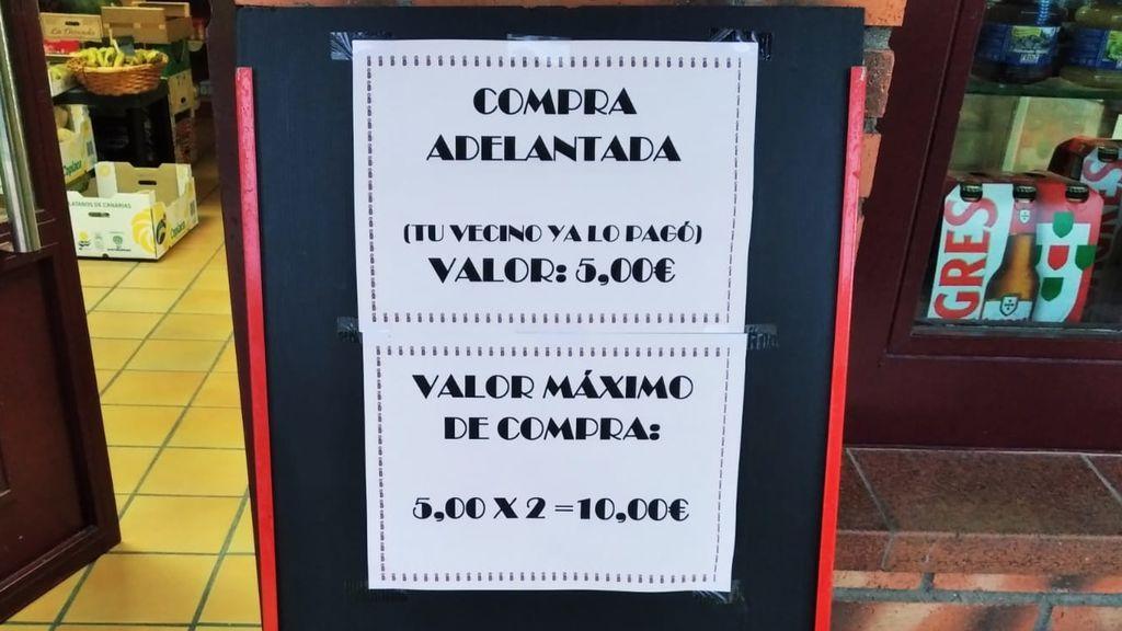 'Compra adelantada': la iniciativa solidaria de un grupo de vecinos de Villares de la Reina