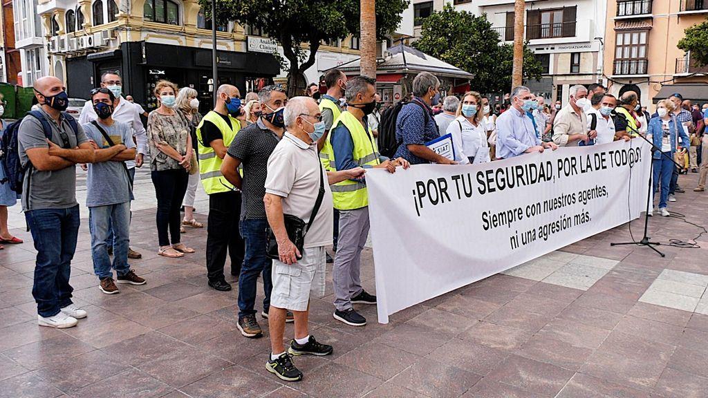 Concentración en la Plaza Alta de Algeciras