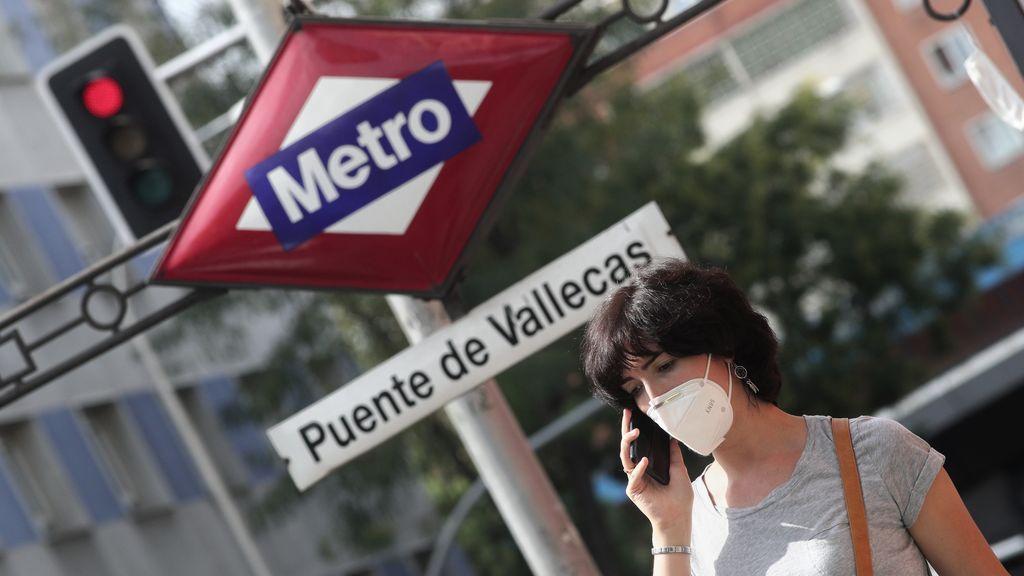 """Preocupación en Vallecas ante el posible """"confinamiento selectivo"""" que amenaza al sur de Madrid"""