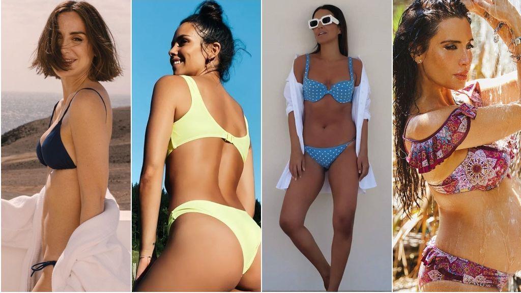 Paula Echevarría, Cristina Pedroche o Tamara Falcó: las protagonistas de los posados en bikini más comentados del verano