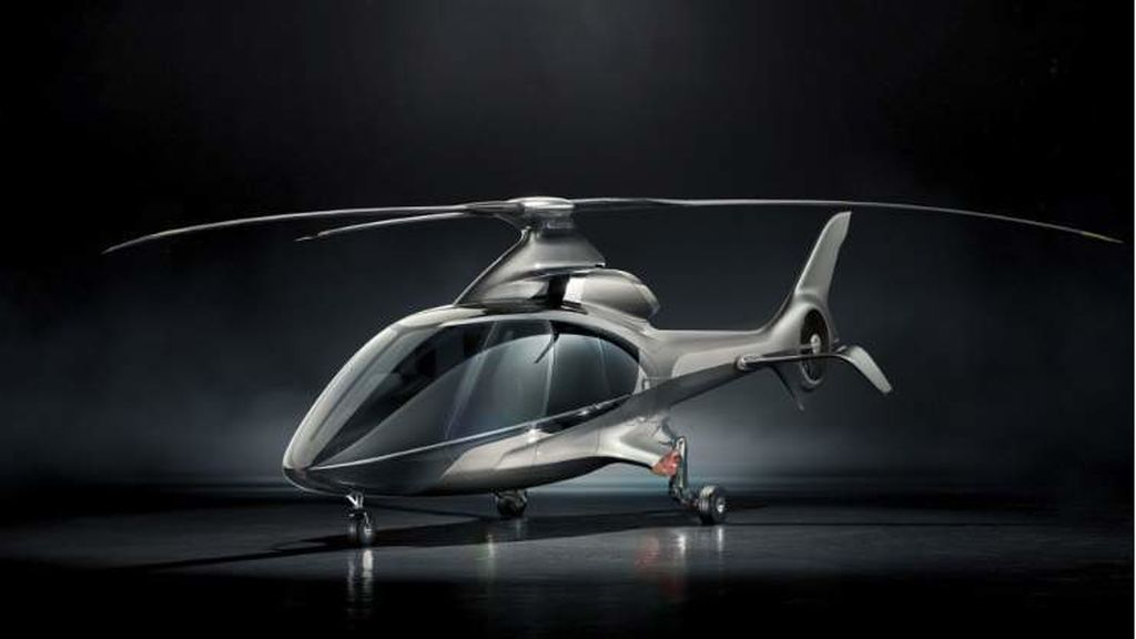 Así es el HX50, el helicóptero más lujoso del mundo