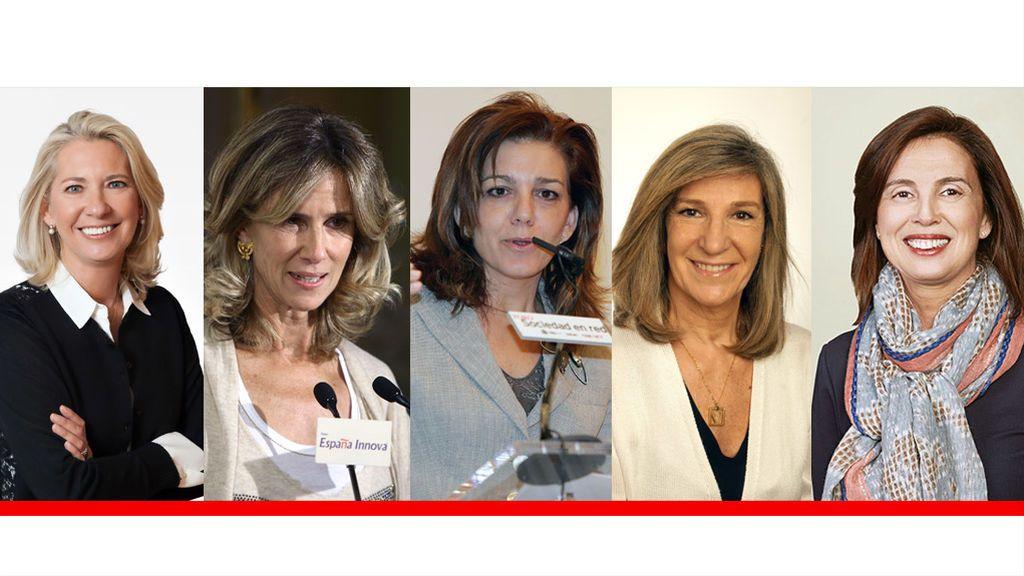 Estas son las cinco mujeres que se sentarán en el Consejo de la nueva CaixaBank