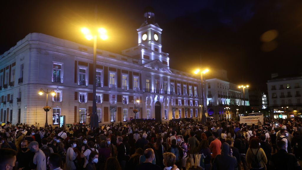 """Manifestación en Madrid, contra las restricciones: """"No es cuarentena es segregación"""""""