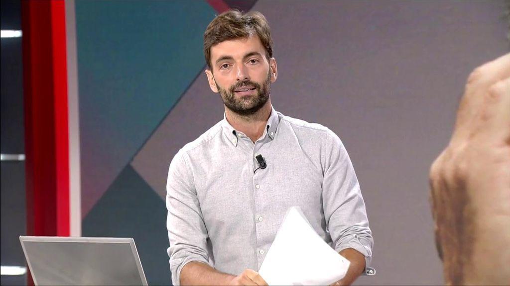 Ricardo Reyes, en un momento del programa.