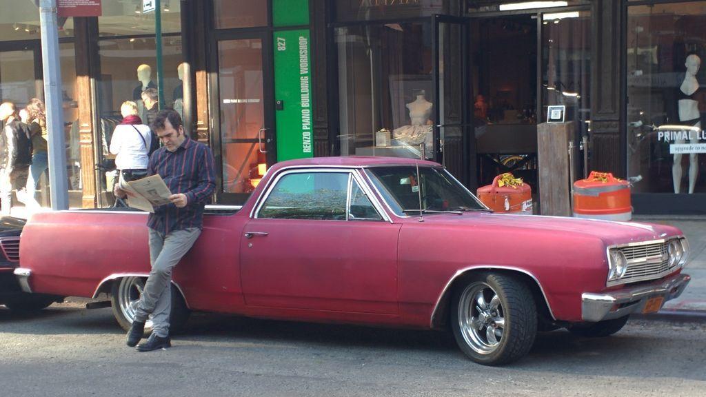 Paco Leiro, en Nueva York