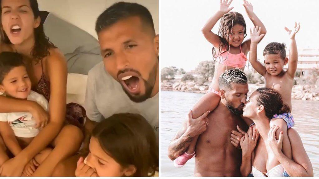 Garay, un padrazo sin equipo: se vuelva en la recuperación de su hijo tras ser operado en una complicada intervención