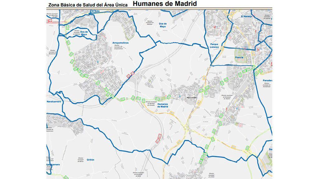 Humanes de Madrid y Moraleja de Enmedio