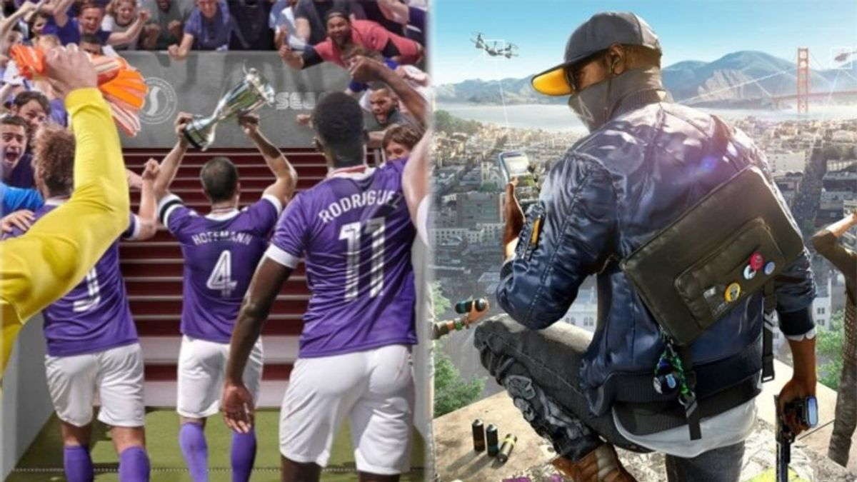 Football Manager 2020 y Watch Dogs 2