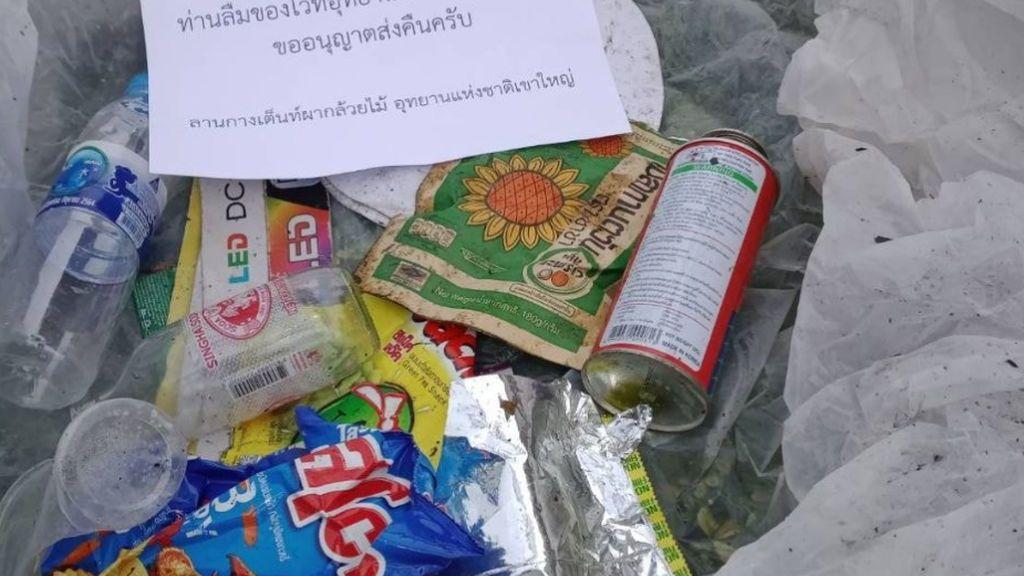 """""""Si tiras la basura en el campo, te la devolvemos a casa"""": el modelo ejemplar de Tailandia para los excursionistas"""