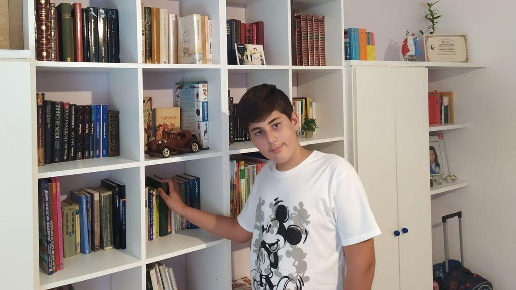 Un cordobés de 11 años, premio a la mejor novela en los 'International Latino Book Awards'