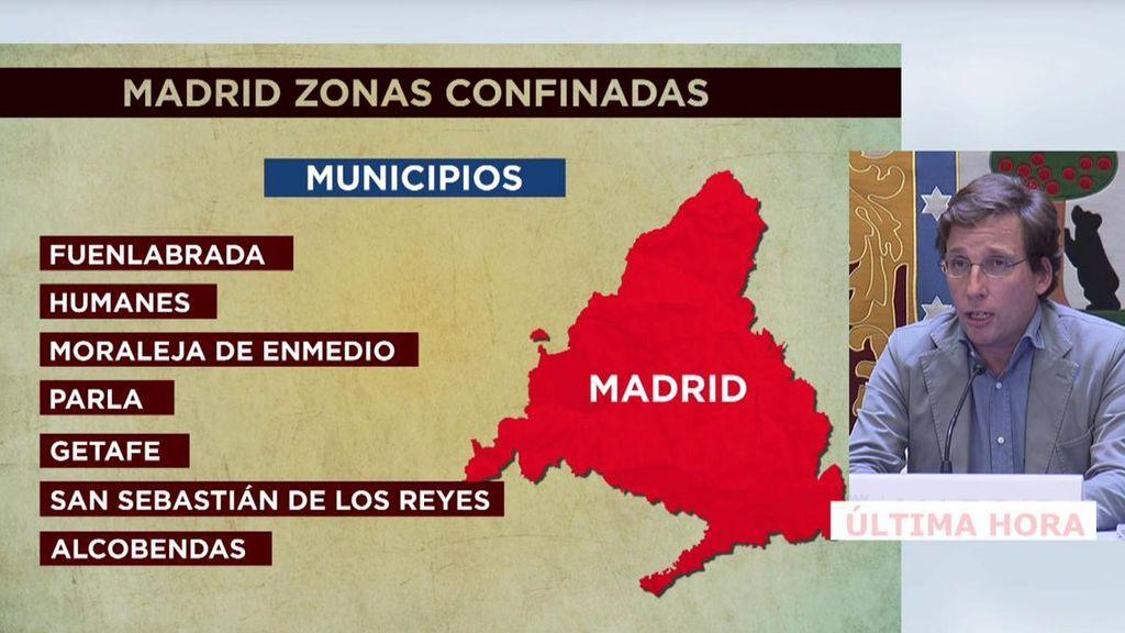 Rueda de prensa de José Luis Martínez Almeida.