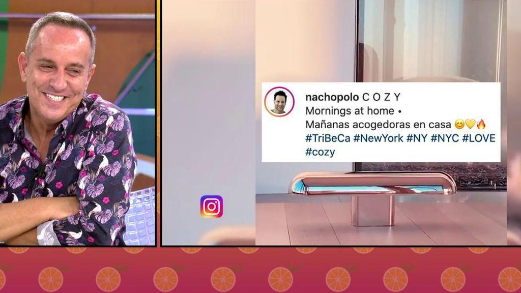 """Nacho Polo estrena piso de lujo en Nueva York y Víctor Sandoval se queja: """"A mí me revuelve el alma"""""""