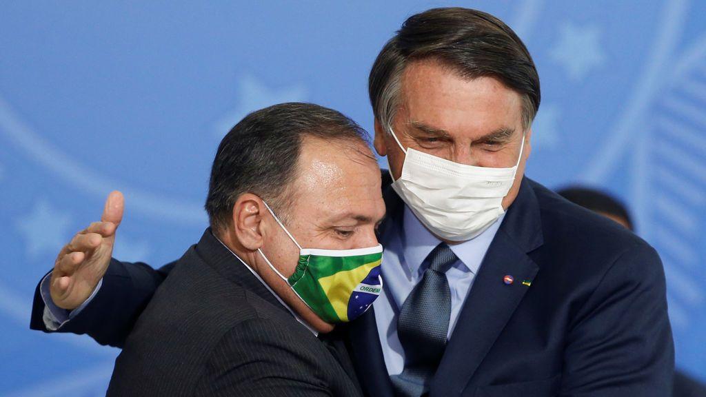Brasil anuncia un descenso del 30% en los contagios de coronavirus en la última semana