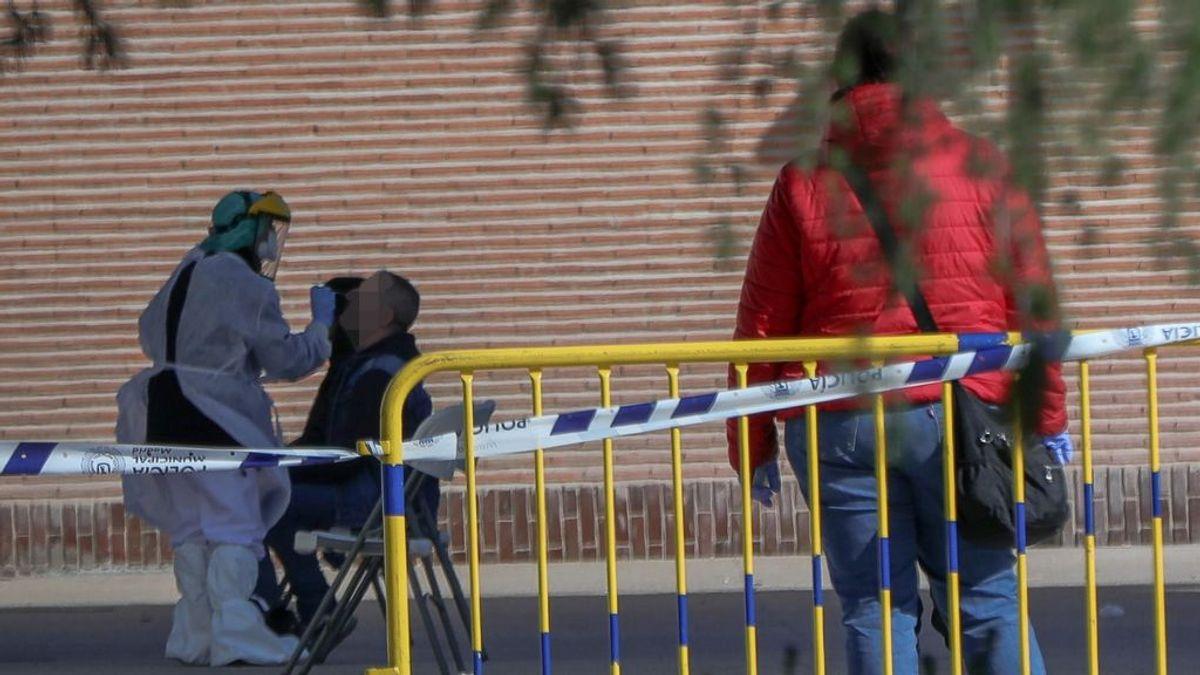 Andalucía registra un nuevo récord diario con 1.617 positivos en la covid-19 por PCR