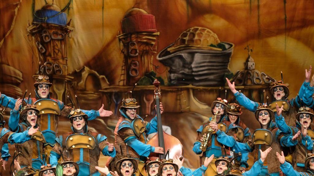El coro `La Colonial´,  ganador en el concurso de 2020