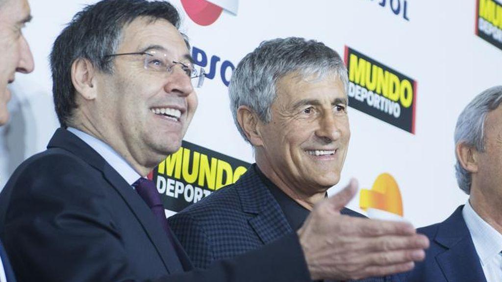 Setién se siente engañado por Bartomeu y no perdonará ni un euro de su contrato con el Barça