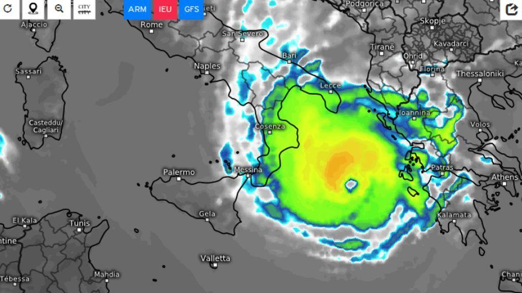 La atmósfera se desata: un huracán en el Mediterráneo ya no se descarta