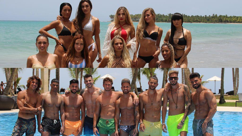 Conoce a los solteros y solteras de 'La isla de las tentaciones 2'