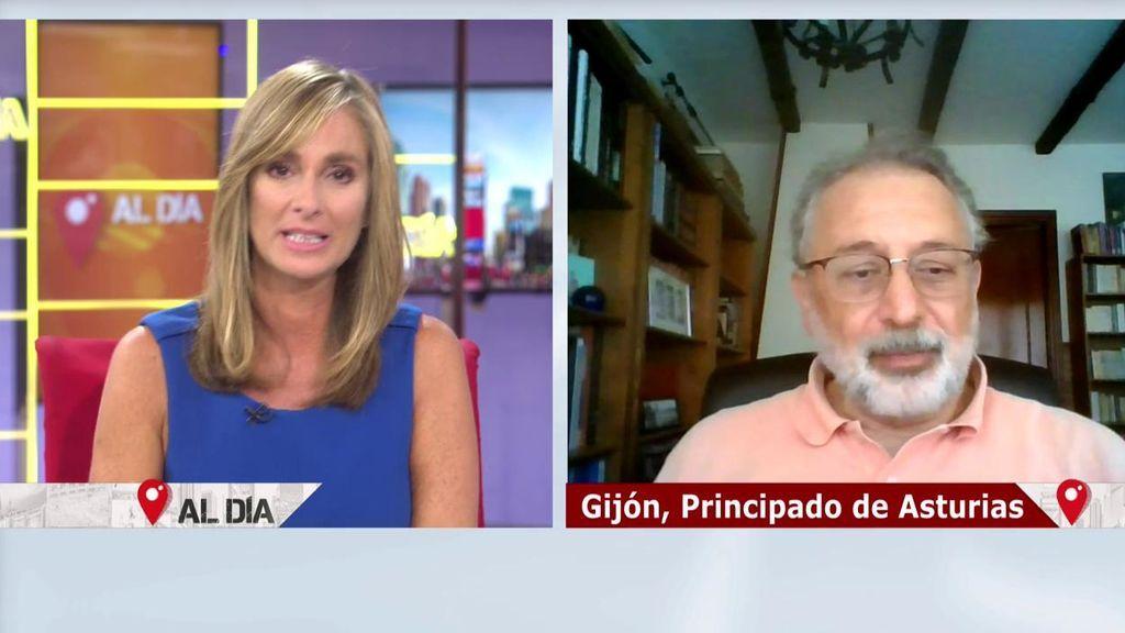 Marta Reyero y Roberto Arce entrevistan en directo a Daniel López Acuña