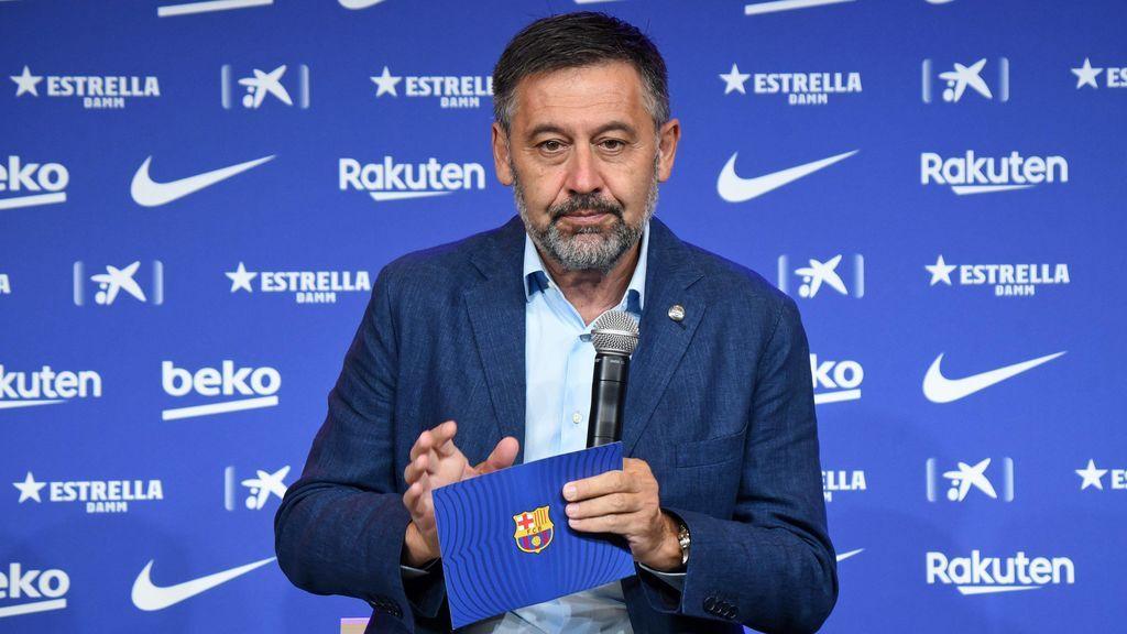 """Bartomeu sigue firme y descarta dejar el Barça: """"No me planteo dimitir"""""""