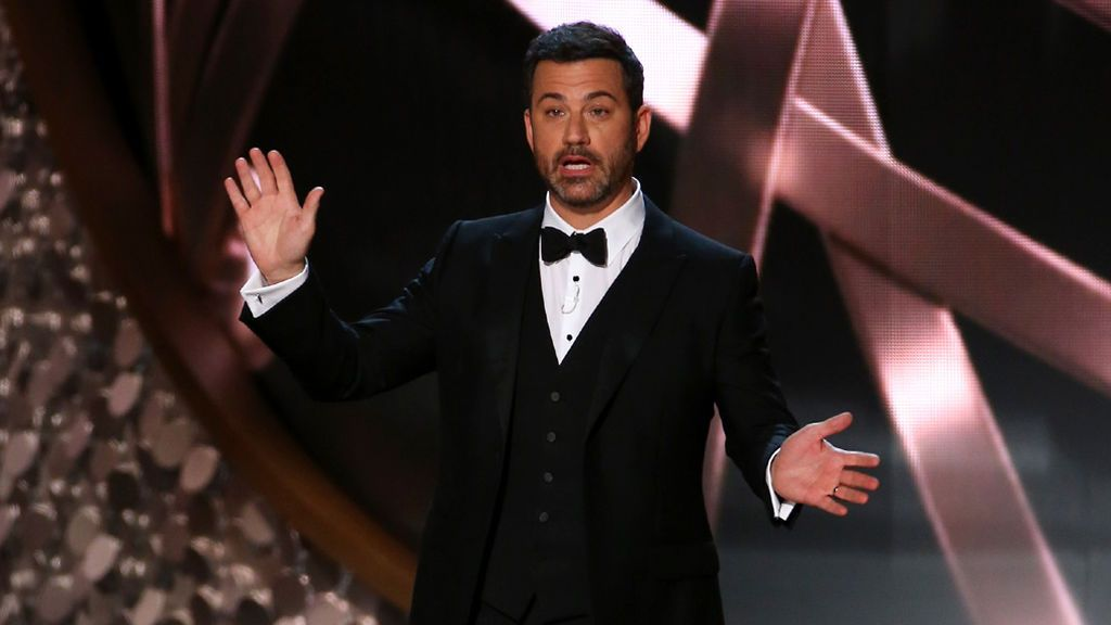 Jimmy Kimmel, en los Emmy de 2016