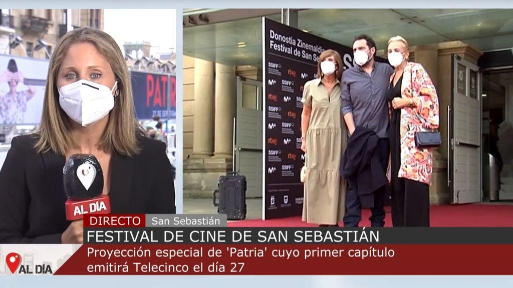 'Patria' enmudece el Festival de San Sebastián: el primer capítulo se podrá ver en Telecinco el 27 de septiembre