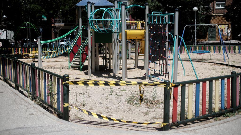 Los parques sólo cierran en las zonas restringidas de Madrid y la razón oficial es que son zonas de contagio