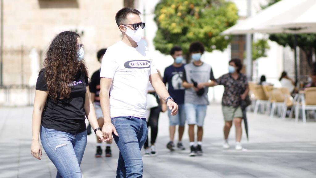 Extremadura alcanza un nuevo récord de contagios con 373 positivos en una jornada con dos fallecidos