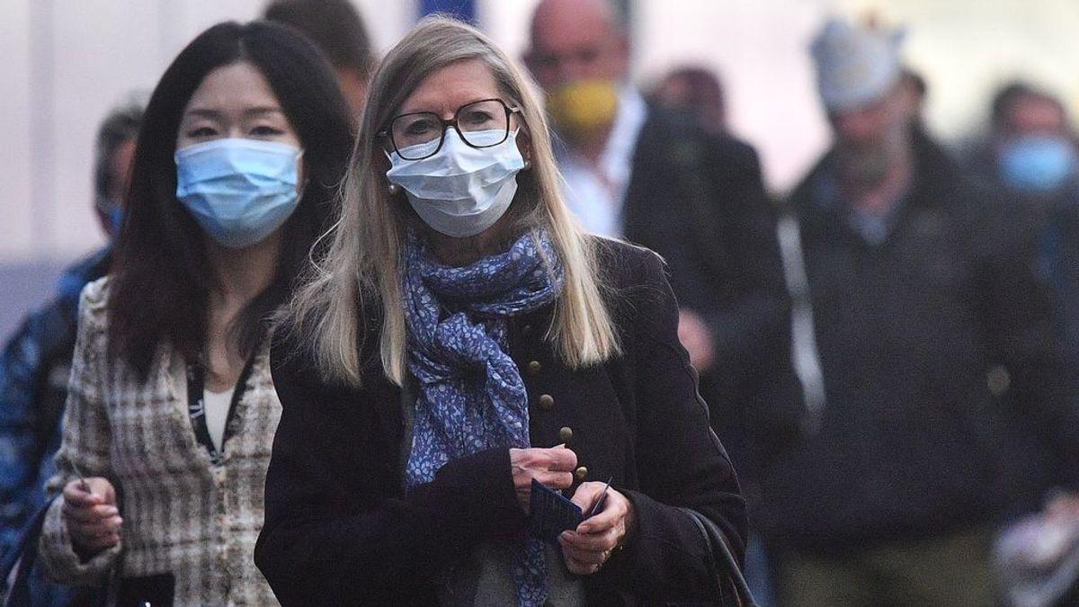 Reino Unido informa de un récord de contagios diario por coronavirus de los últimos cuatro meses