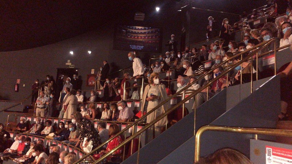 Indignación entre el público del Teatro Real ante el exceso de aforo