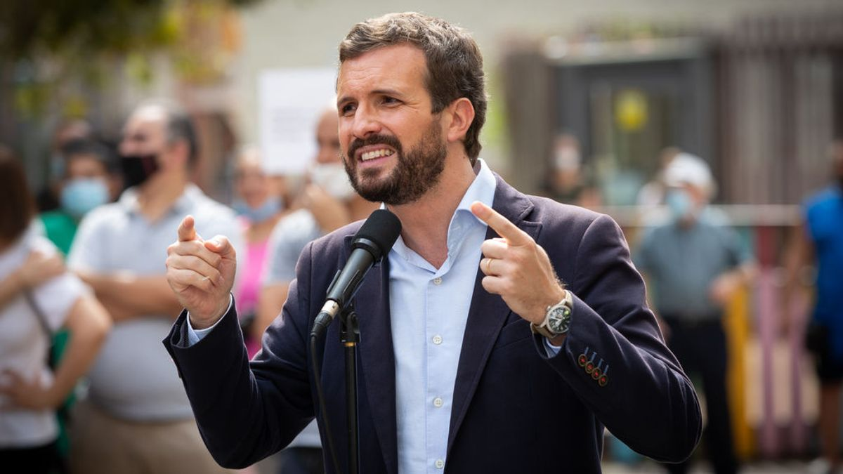 """Casado, sobre la intención de Iglesias de acabar con la Monarquía: """"¿Es esto para Sánchez defender la Constitución?"""""""