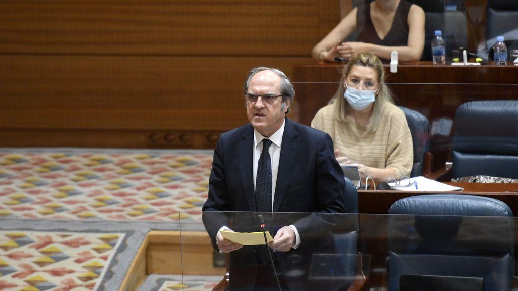 """Gabilondo niega un """"ensañamiento"""" del Gobierno central con Madrid y no descarta una moción de censura"""