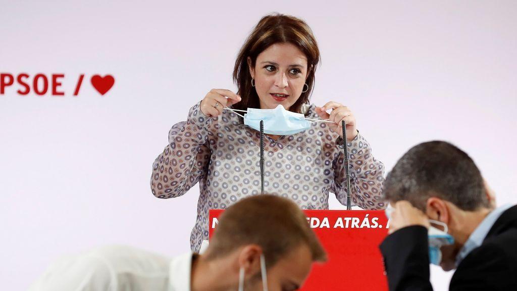 Lastra acusa a Ayuso de incompetente un día antes de la cita entre Sánchez y la presidenta madrileña