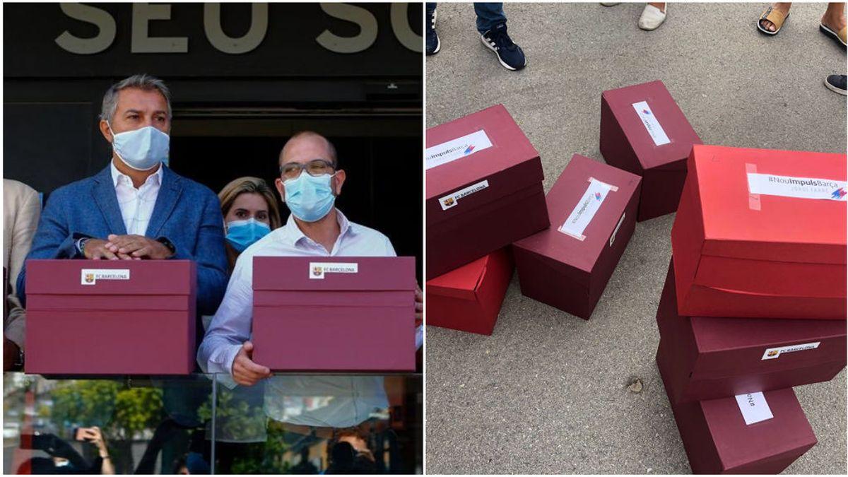 Las firmas de la moción de censura del Barça bajo lupa: se investiga la validez de 5.000 de ellas