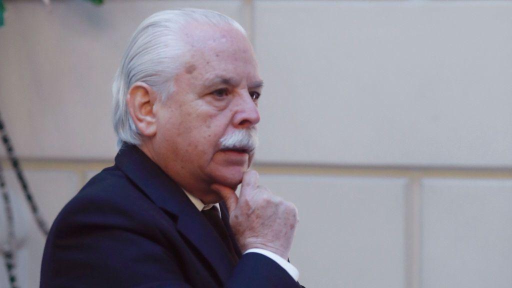 """Luis Navajas, el teniente fiscal del Supremo, """"monógamo, monárquico, madridista""""... y más que locuaz"""
