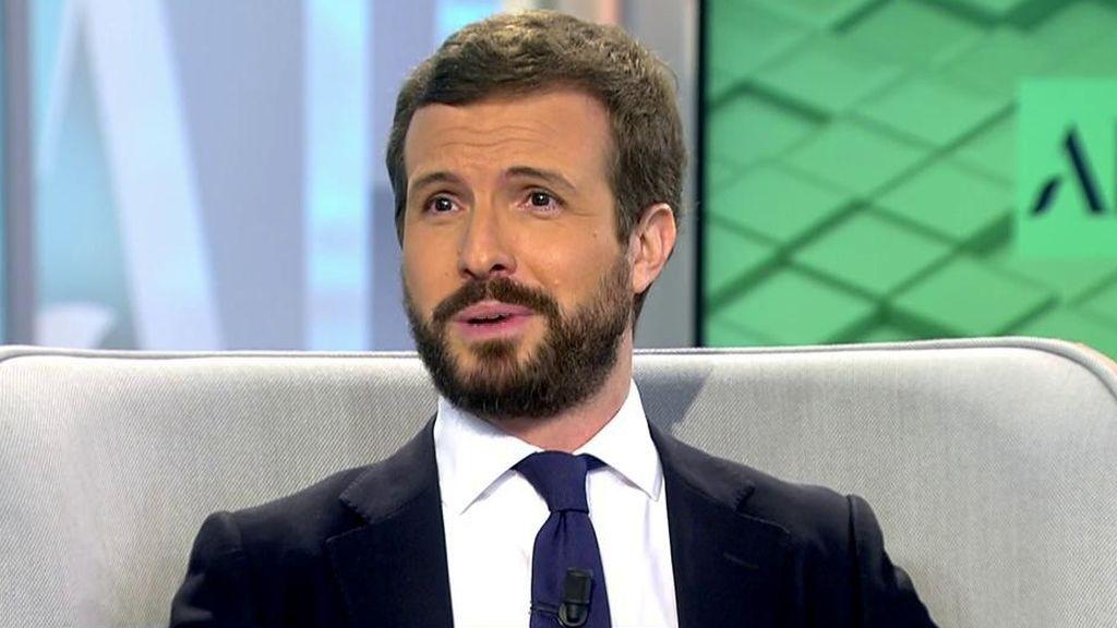 Pablo Casado habla sobre Pedro Sánchez