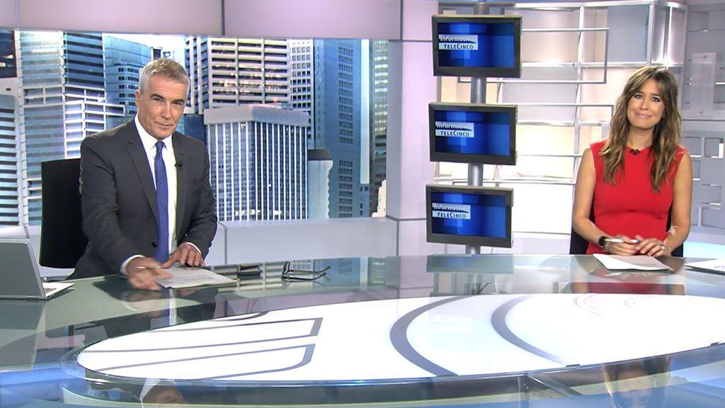 Con David Cantero e Isabel Jiménez Informativos Telecinco 2020 Mediodía 21/09/2020