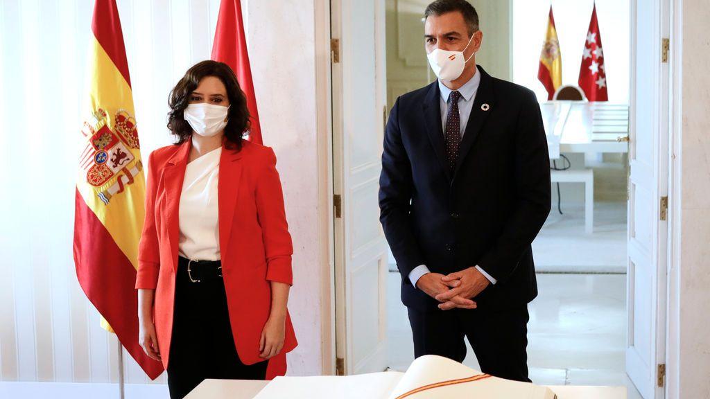 """Sánchez tras la reunión con Ayuso: """"Tenemos que estar listos para otros escenarios"""""""