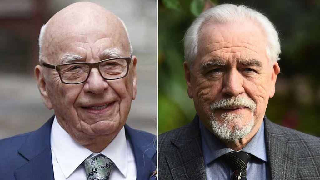 Rupert Murdoch vs. Logan Roy (Brian Cox)