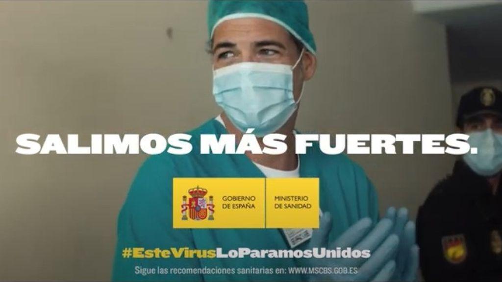 #Salimosmásfuertes, la campaña publicitaria del Gobierno al fin de la cuarentena costó más de 4,5 millones de euros