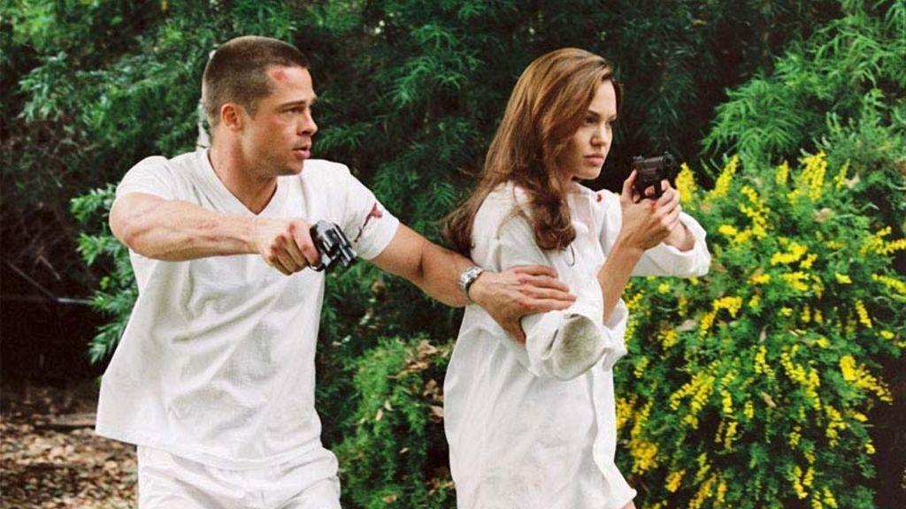 Entre Brad y Angelina saltaron las chispas rodando 'Sr. y Sra. Smith'.