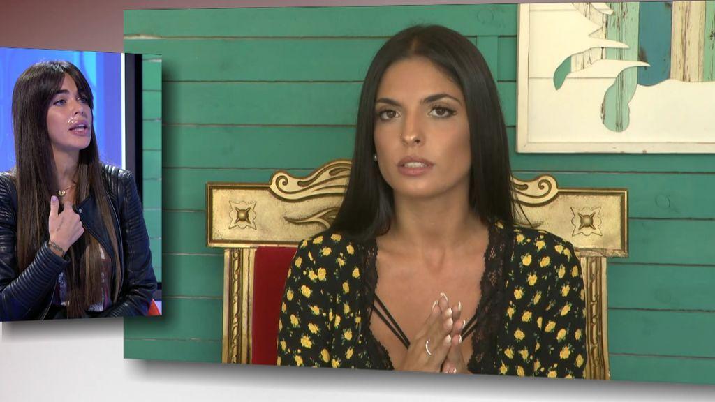 """Miriam se enfrenta a Violeta: """"No soy 'la otra', tengo nombre"""""""