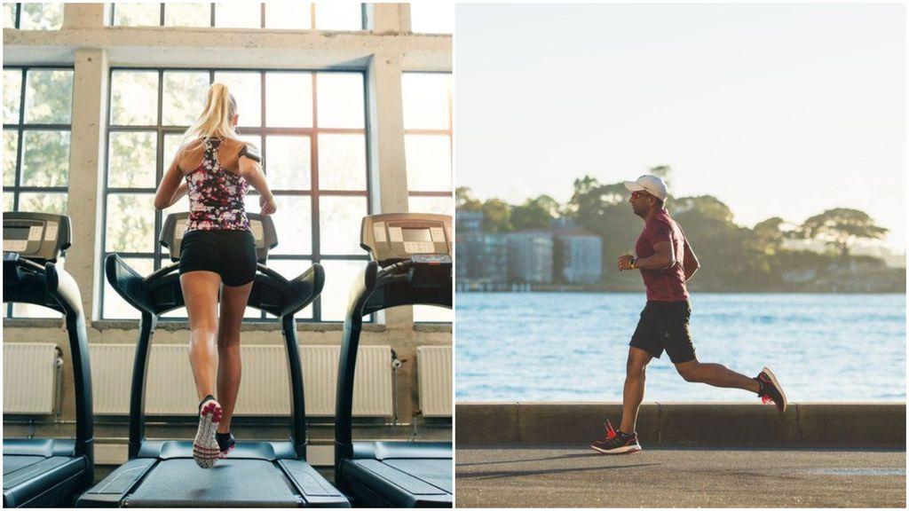 Correr en cinta o en la calle: ¿qué es mejor?