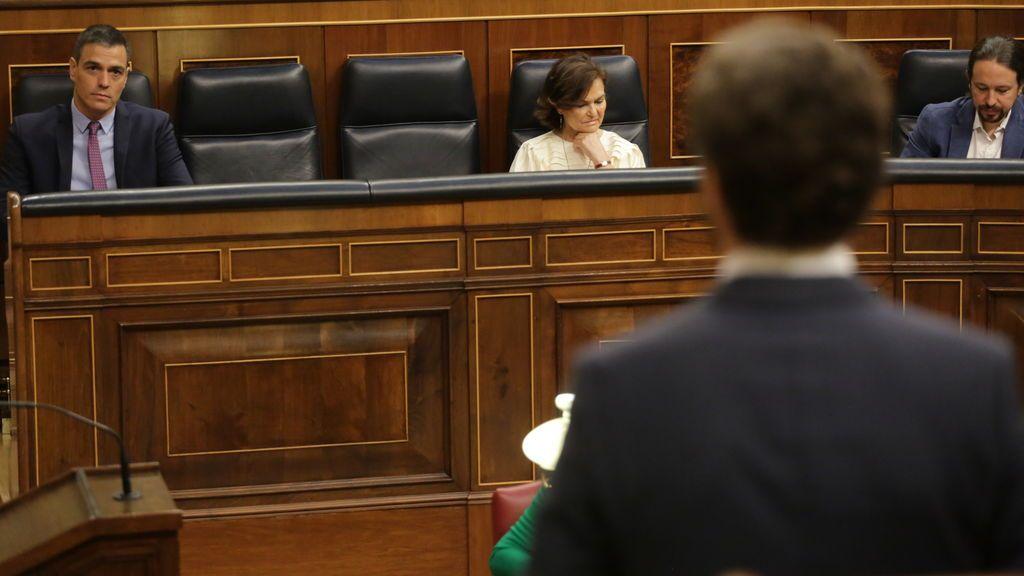 """El PP acusa a Sánchez de """"huir"""" a Bruselas para no responder a Casado por la pandemia"""