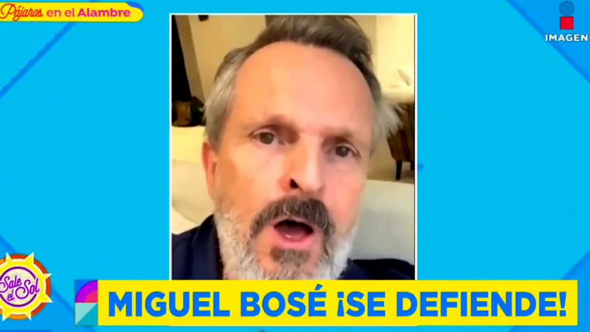 Miguel Bosé reaparece en una entrevista en YouTube